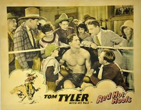Red Hot Hoofs lobby card
